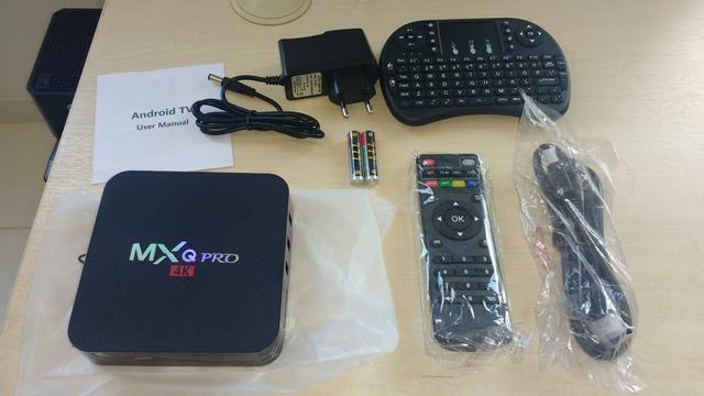Tv box configurado ( brinde fone de ouvido jbl)