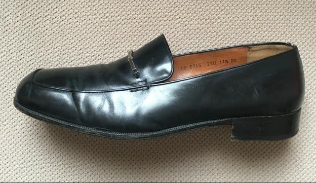 18183bd1009c6 Sapato Salvatore Ferragamo Couro Preto 42 Usado - Roupas e calçados ...