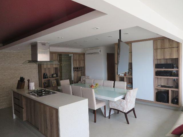 Encanto 3 quartos, armários planejados, porcelanato, cozinha gourmet