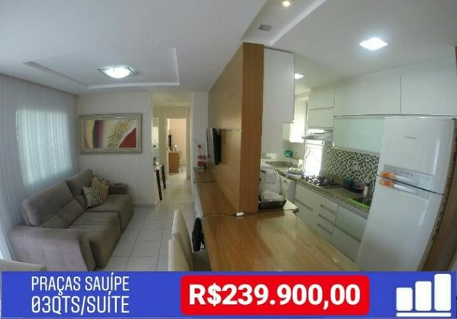 Apartamento 03 quartos em Manguinhos Praia da Baleia, Praças Sauípe,Serra – ES
