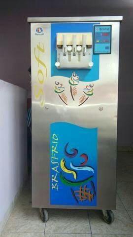 Maquina sorvete expresso Basfrio