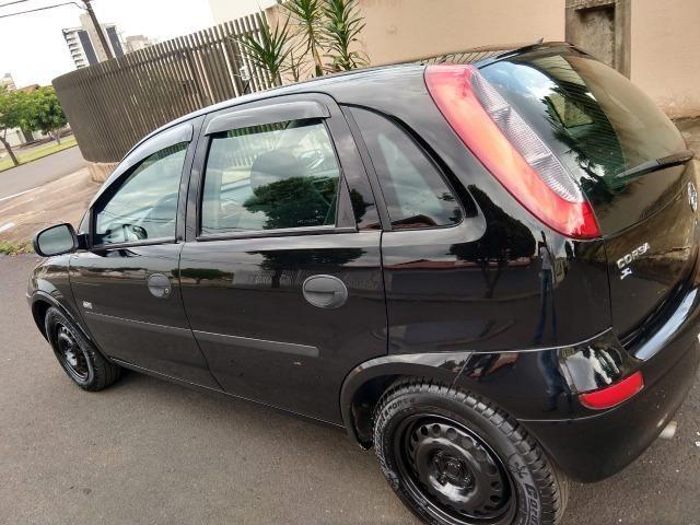 Gm - Chevrolet Corsa hatc joy 1.0 flex abaixo da fipe 2007 - Foto 4