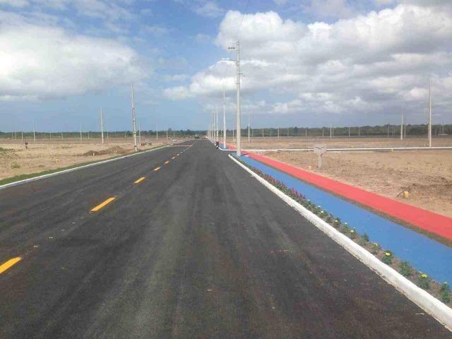 Terreno em Araquari com pequena entrada - Foto 13