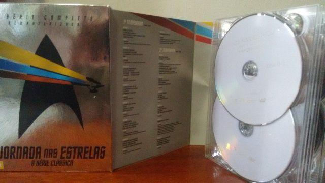 f2dab260d8b57 Dvd Box Jornada Nas Estrelas - A Série Clássica Completa - 23 Discos
