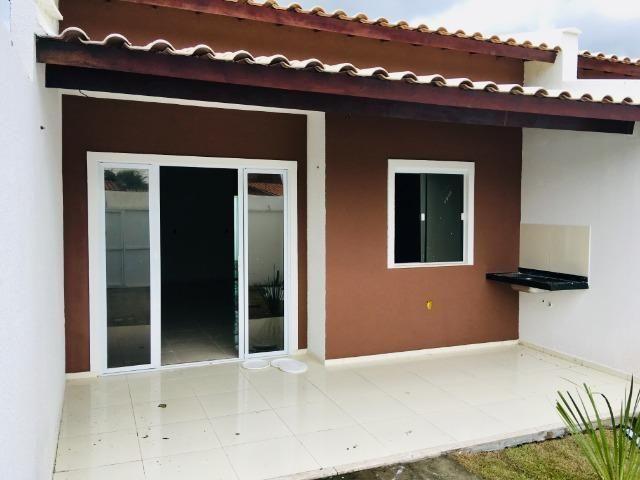 Documentação Inclusa: 2 quartos, 2 wcs, garagem, sala, coz americana, quintal, área serviç - Foto 3