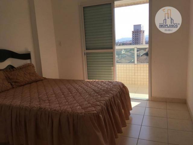 Apartamento com 2 dormitórios à venda, 76 m² por r$ 270.000 - campo da aviação - praia gra - Foto 15