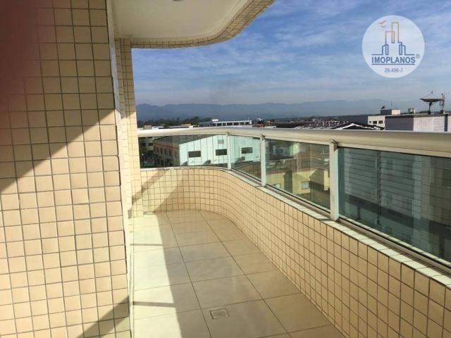 Apartamento com 2 dormitórios à venda, 76 m² por r$ 270.000 - campo da aviação - praia gra - Foto 5