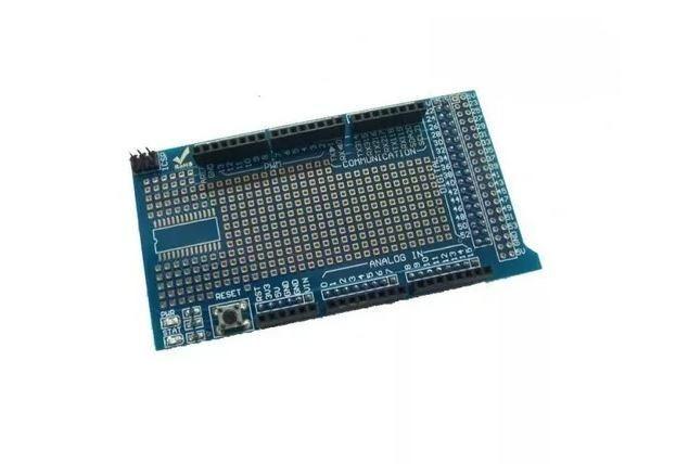COD-AM148 Arduino Mega Shield Placa Expansao Protoshield V3 Arduino Automação Robotica - Foto 3