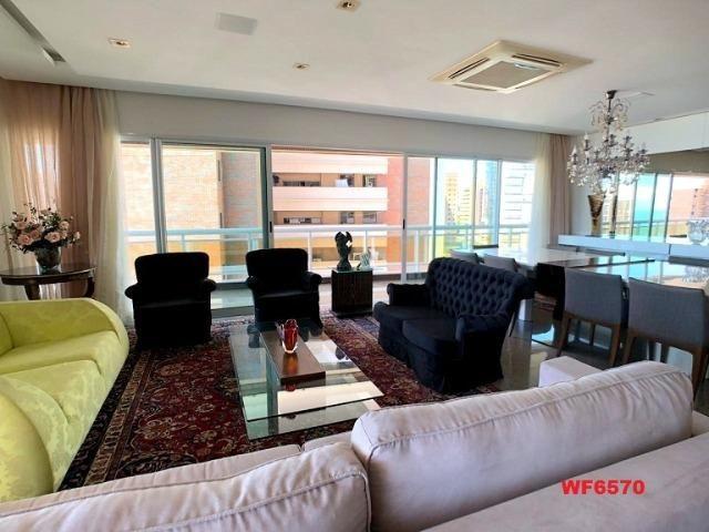 Bossa nova, apartamento no Meireles, 5 suítes, 5 vagas de garagem, 400m², vista mar - Foto 2
