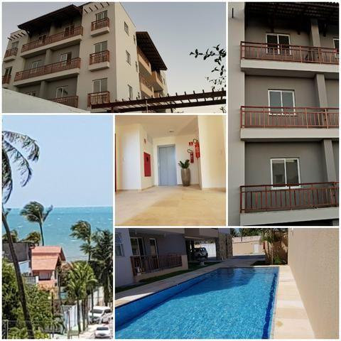 Apartamento mobiliado completo 2 quartos vista mar 100 mt do centro do cumbuco ce brasil