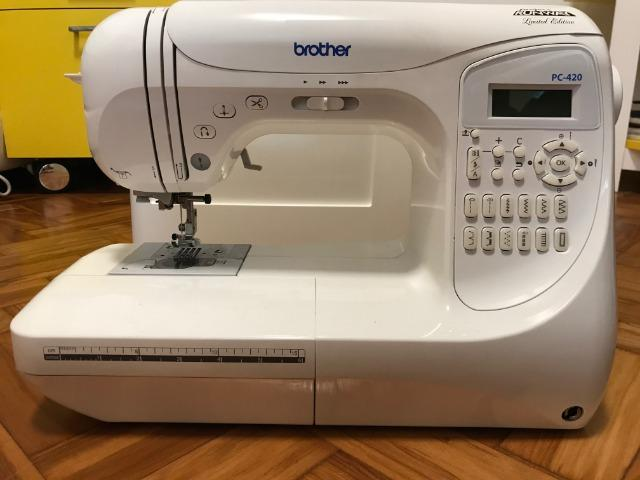 Máquina de Costura Brother Project Runway? Limited Edition PC-420 PRW - Foto 3