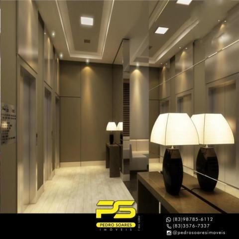 Apartamento com 2 dormitórios para alugar, 60 m² por R$ 3.500,00/mês - Tambaú - João Pesso - Foto 10