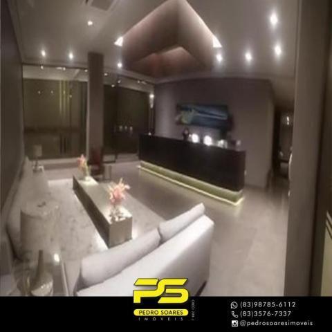 Apartamento com 2 dormitórios para alugar, 60 m² por R$ 3.500,00/mês - Tambaú - João Pesso - Foto 14