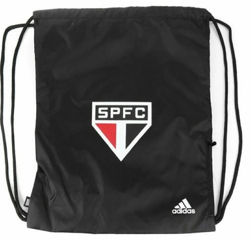 Sacola Adidas São Paulo Com Bolso Lateral