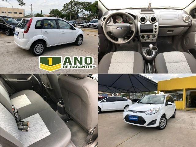 Fiesta Sedam 1.6 Completo + GNV V geração ótimo estado geral entrada R$ 3990,00 + 48 X - Foto 13