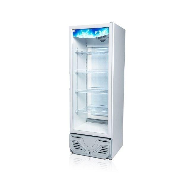 Expositor refrigerado uma porta p/ bebidas Novo Frete Grátis - Foto 2