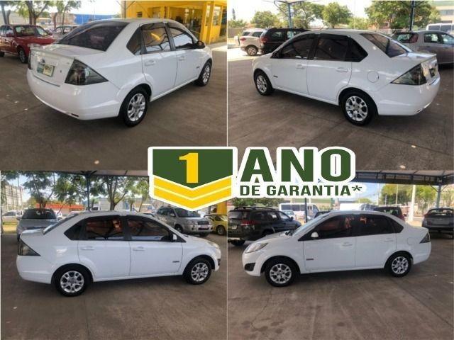 Fiesta Sedam 1.6 Completo + GNV V geração ótimo estado geral entrada R$ 3990,00 + 48 X - Foto 15