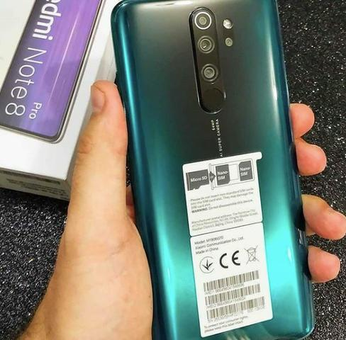 Celular Redmi Note 8 Pro 128gb Versao Global Lacrado 100% Original - Foto 3
