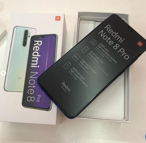 Celular Redmi Note 8 Pro 128gb Versao Global Lacrado 100% Original