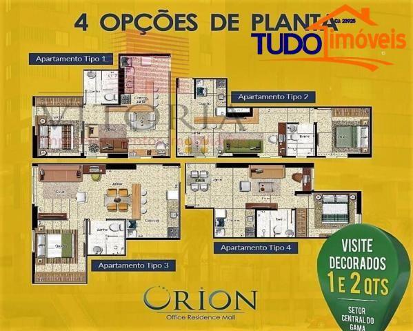 ORION - AP 1, 2, 3 e 4 QUARTOS, SALAS COMERCIAIS, SHOPPING E RESIDENCIA - O PRIMEIRO E ÚNI - Foto 11