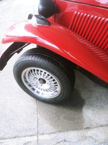 Rodas da MP lafer c/4 pneus. Cabe em Fusca e similares... - Foto 2
