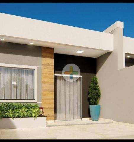 Casa com 2 dormitórios, sendo 1 suíte à venda, 62 m² por R$ 200.000 - Loteamento Comercial