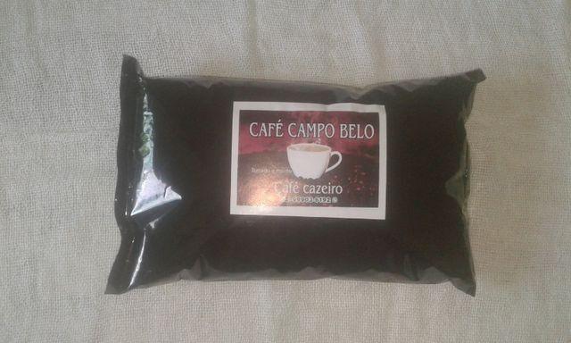 Pó de café caseiro