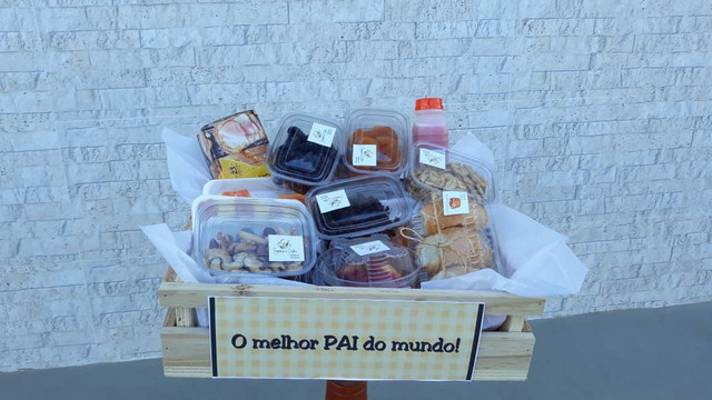 Cesta Box café da manhã / tarde - Foto 3