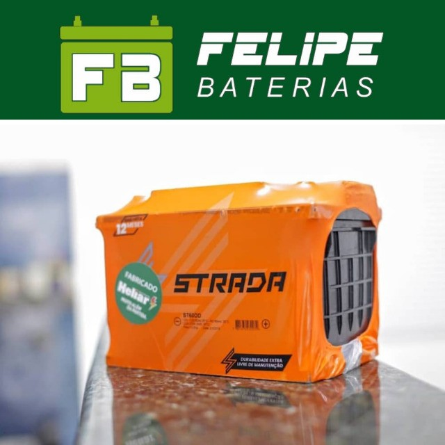 Baterias Para Carro 60Ah!* - Foto 2