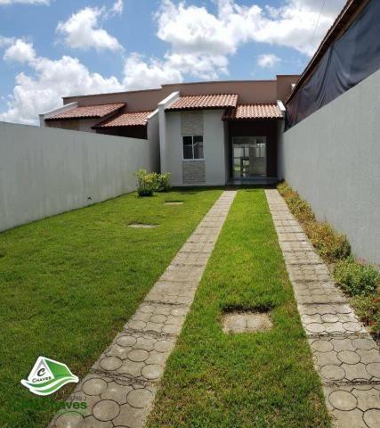 Casa à venda, 75 m² por R$ 179.990,00 - Timbu - Eusébio/CE