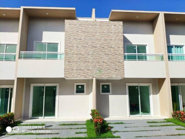 Sobrado com 2 dormitórios à venda, 70 m² por R$ 210.000,00 - Tamatanduba - Eusébio/CE