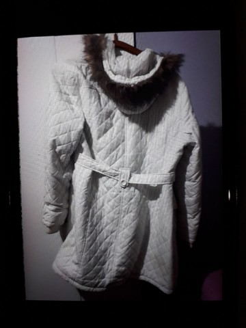 Jaqueta nylon branca - Foto 2