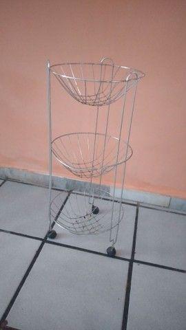 Fruteira inox - Foto 2