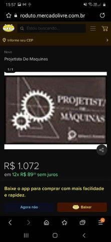 Livro Projetista de Maquinas - Foto 3