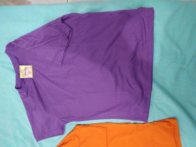 Camiseta de poliviscose - Foto 2