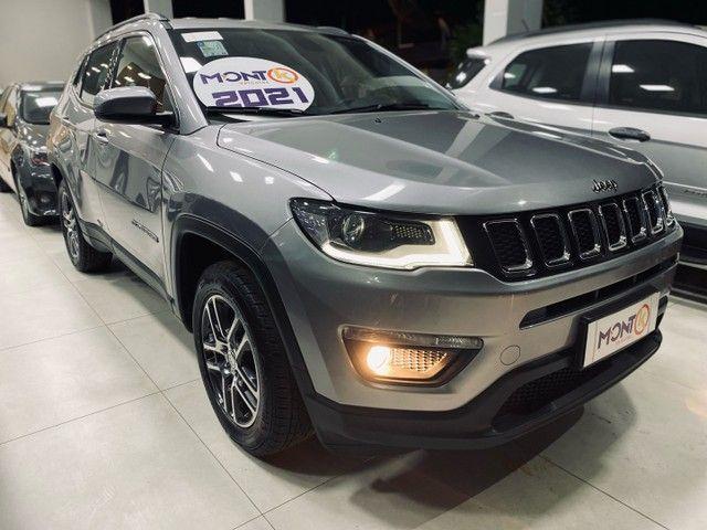 Jeep compass Sport 2021; MontK veículos anuncia  - Foto 2