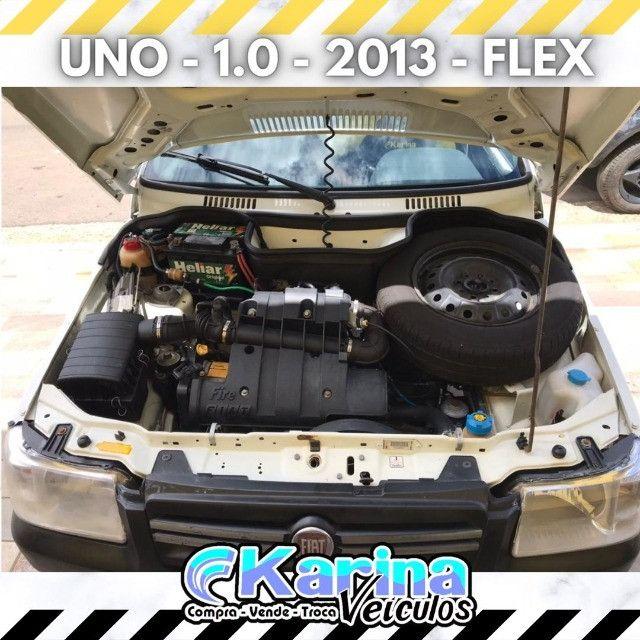 Uno Mille - 1.0 - 2013 - Flex - ótima oferta para um ótimo carro!!! - Foto 5