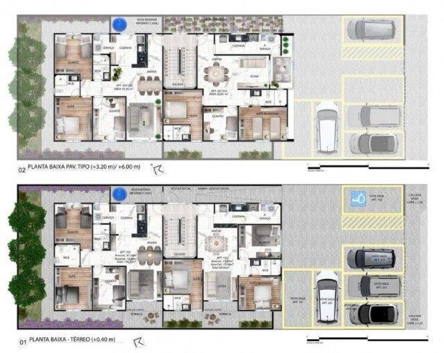 Apartamento de 03 quartos no Bairro dos Estados. 318-9689 - Foto 6