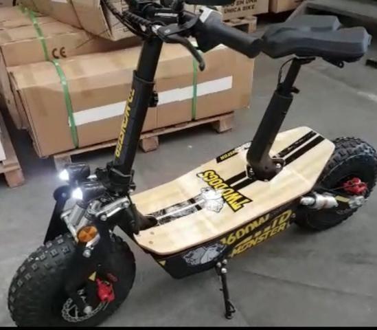 Scooter patinete NOVO MOST. 1600w 48volts adulto - Foto 3