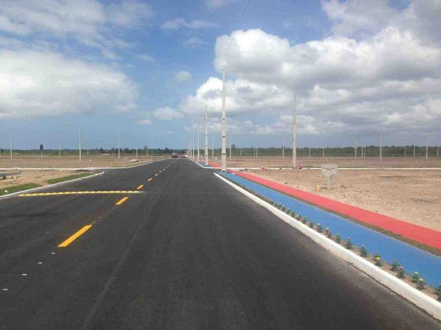 Terreno em Araquari com pequena entrada