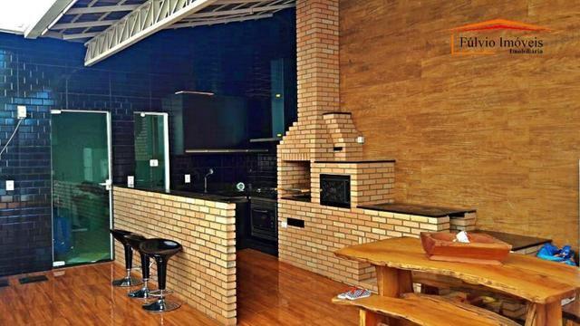 Oportunidade! Taguaparque! 03 quartos, piscina aquecida, churrasqueira, fogão à lenha - Foto 4