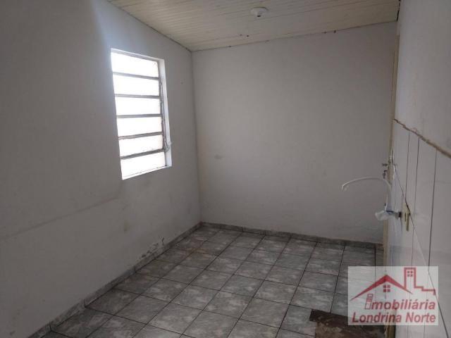 Casa com 3 dormitórios para alugar, 65 m² por R$ 650/mês - Conjunto Vivi Xavier - Londrina - Foto 8