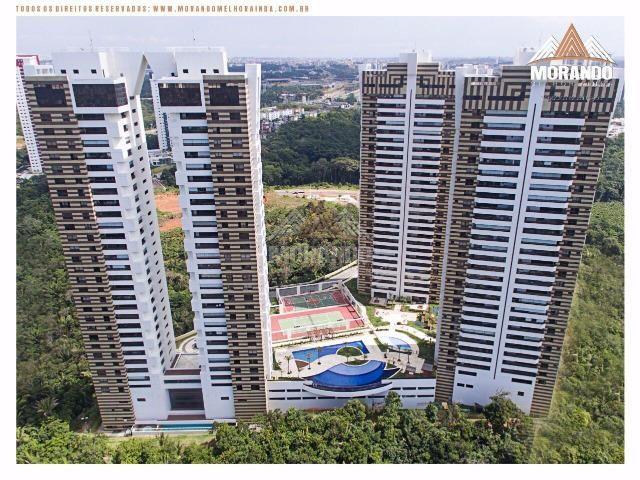Apartamento Grenville Lumno 4 Suítes 225m2 Alto Decorado Nascente linda vista mar - Foto 17