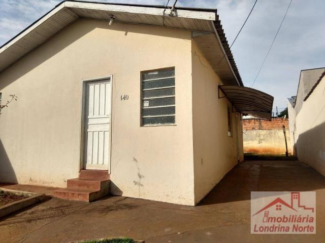 Casa com 3 dormitórios para alugar, 65 m² por R$ 650/mês - Conjunto Vivi Xavier - Londrina - Foto 4