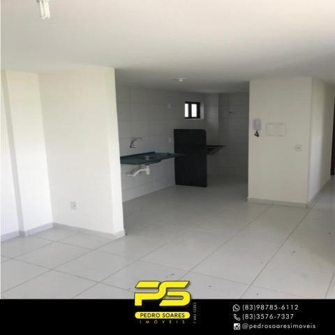 Apartamento com 2 dormitórios à venda, 61 m² por R$ 122.000 - Paratibe - João Pessoa/PB - Foto 11