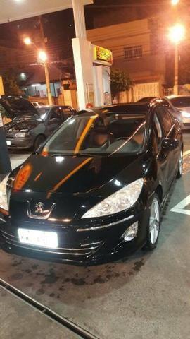 Peugeot 408 completo 2.0 GNV débito IPVA 4.200 a pagar recibo aberto em meu nome - Foto 5