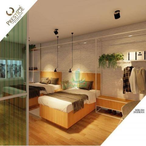 Apartamento com 1 dormitório à venda com 28 m² por R$ 235.200 no Prestige Mercosul Studios - Foto 4