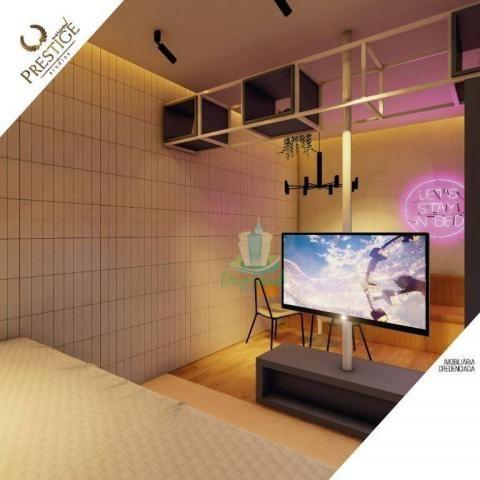 Apartamento com 1 dormitório à venda com 28 m² por R$ 235.200 no Prestige Mercosul Studios - Foto 20