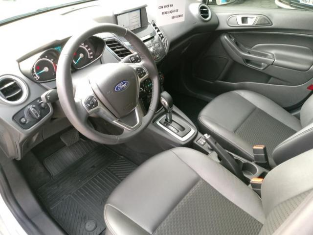 Ford Fiesta 1.6 FLEX TITANIUM POWERSHIFT - Foto 12