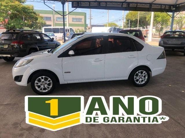 Fiesta Sedam 1.6 Completo + GNV V geração ótimo estado geral entrada R$ 3990,00 + 48 X - Foto 6